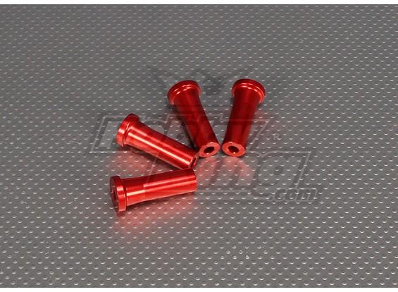 CNC Standoff 40 mm (M5) Vermelho