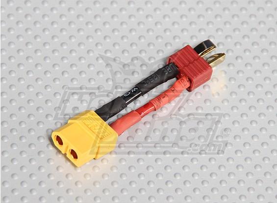 Homem T-Connector <-> Fêmea XT-60 (1pc / saco)
