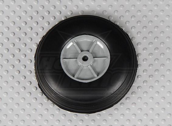 50 milímetros de rodas de borracha (2.0in)