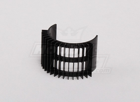 Preto Alumínio Motor dissipador de calor (36 milímetros de diâmetro Inrunner)