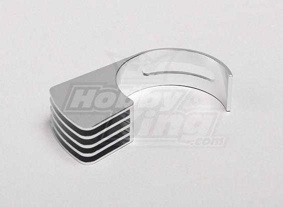 35 milímetros de alumínio de montagem lateral dissipador de calor (para 540.550.560 motor) (Small)