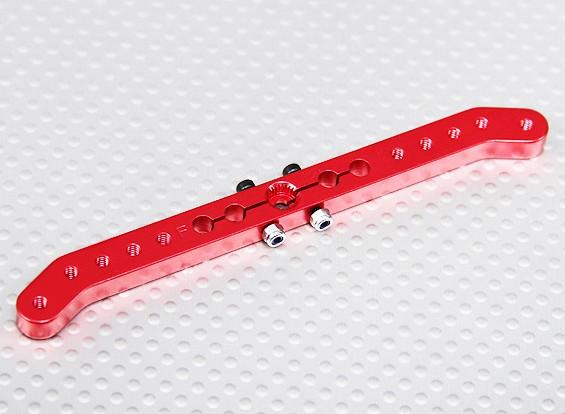 Pesado 4.2in Dever Alloy Pull-Pull Servo Arm - Futaba (vermelho)