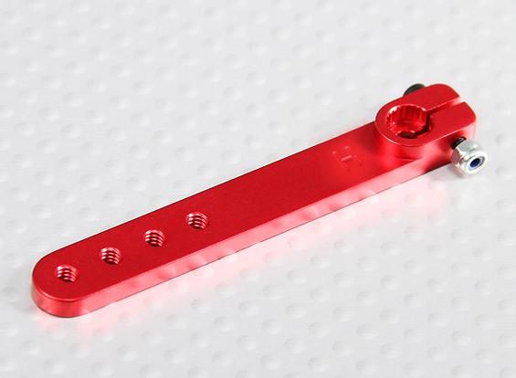 Heavy Duty Alloy 2in Servo Arm - Hitec (vermelho)