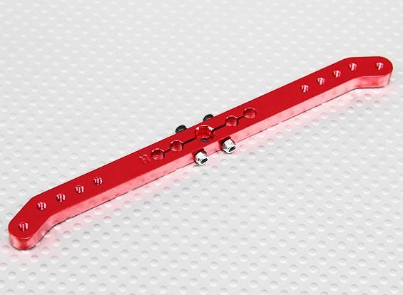 Pesado 5.1in Dever Alloy Pull-Pull Servo Arm - Hitec (vermelho)