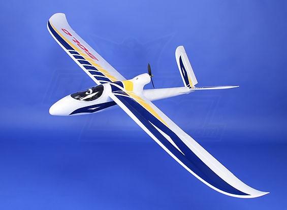 Solo 1500 V-Tail / cauda convencional Glider EPO (PNF)