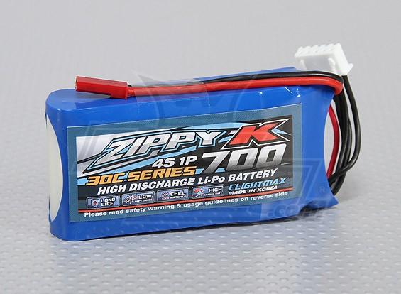 Bateria Zippy-K Flightmax 700mAh 4S1P 30C Lipoly