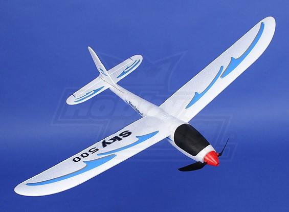Sky 500 Ultra Micro Glider 500 milímetros (Bind e Fly)