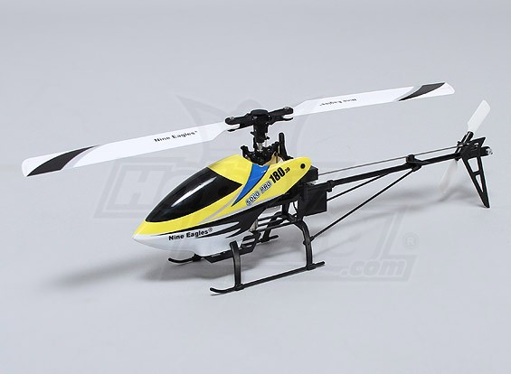 Solo PRO 180 3G Flybarless 3D Micro Helicopter - Amarelo (AUS plug) (RTF)