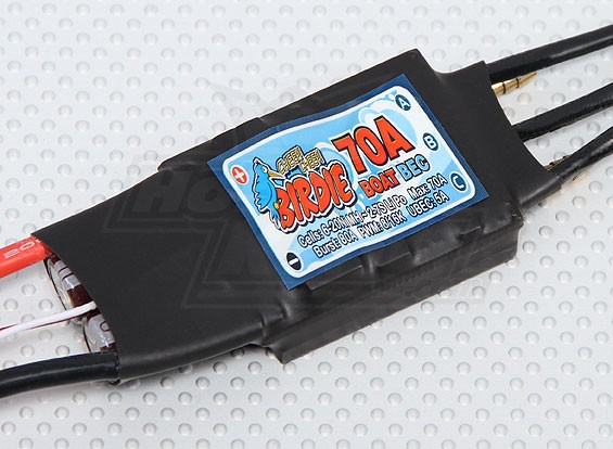 Birdie 70A Brushless ESC Barco w / 5A BEC