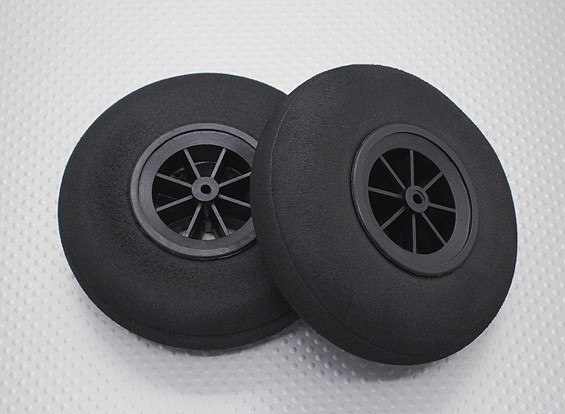 Lightweight 100 milímetros de rodas (2pcs)