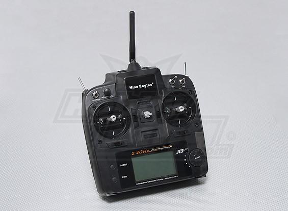 Nine Eagles J6 Transmissor 2.4GHz PRO 6CH (Modo 1 / Modo 2)