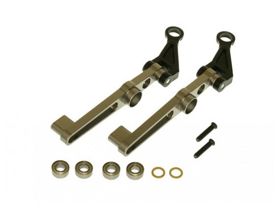 Gaui 425 & 550 CNC esmaecimento conjunto do braço