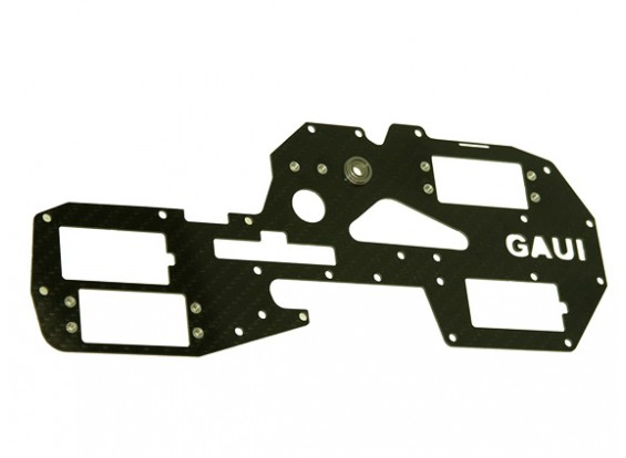 Gaui 425 & 550 H550 Esquerda Carbono Quadro com peças de metal