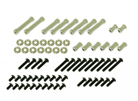 pacote Gaui 425 & 550 H550 Spacer & Screw para CF Frames