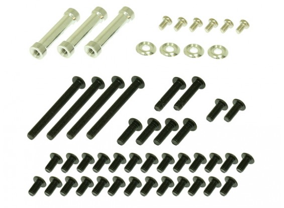 Gaui 425 & 550 H425CF Spacer & Screw pack para Frames CF
