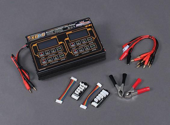 HobbyKing ™ XD-6 Balance carregador Plus Acessórios 240W (4 x 60W)