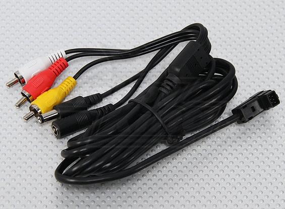 Fatshark FPV base principal cabo de conexão (3 metros)