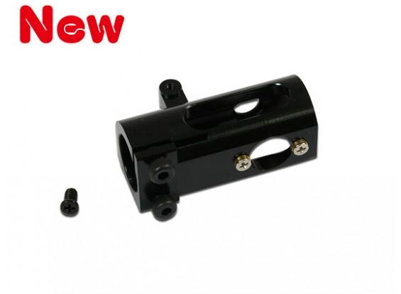 Gaui Furacão 255 caixa de engrenagens da cauda Heli CNC Integrado (preto anodizado)