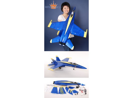 AT Blue Angel F / A-18C ARF Brushless Jet