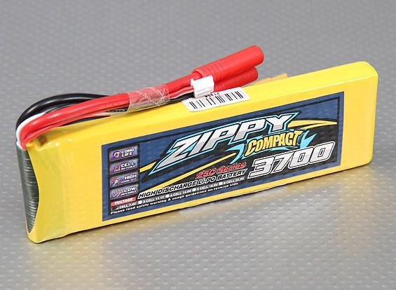 ZIPPY Compact 3700mAh 2S 25C Lipo pacote