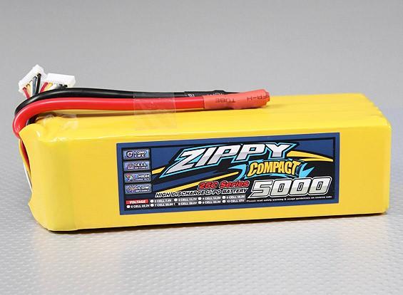 ZIPPY Compact 5000mAh 8S 25C Lipo pacote