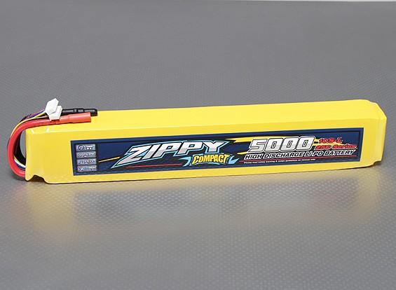ZIPPY Compacto 5000mAh 10S 25C Lipo pacote