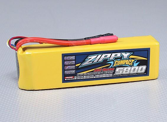 ZIPPY Compact 5800mAh 4S 25C Lipo pacote