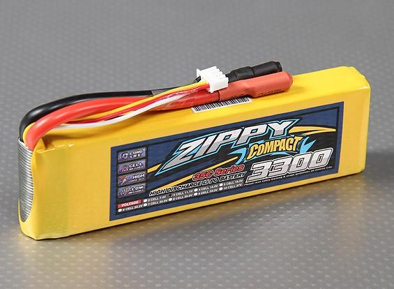 ZIPPY Compact 3300mAh 3S 35C Lipo pacote