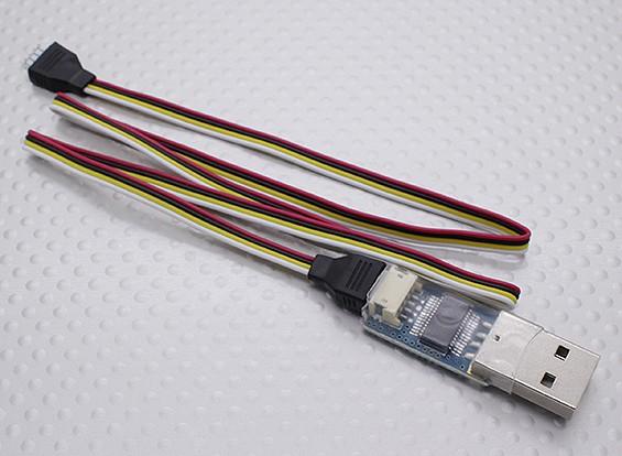 Adaptador USB para baquelite controlador de vôo e OSD minúsculo
