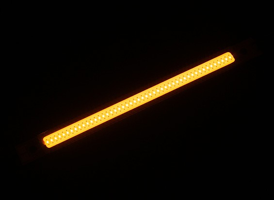 3W LED amarelo Alloy Light Strip 120 milímetros x 10mm (2S-3S Compatible)