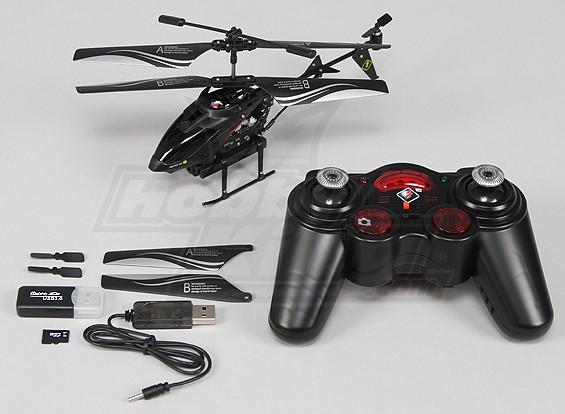 Micro Spycam Helicopter w / cartão SD de 1GB (Modo 2) (RTF)