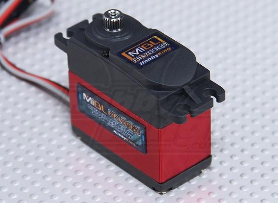 HobbyKing ™ Mi Digital Brushless indução magnética HV / 4 kg MG Servo / 0.034sec / 57g