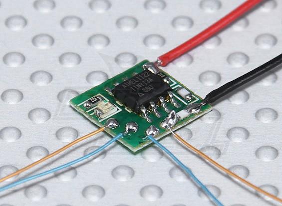 conversor de micro brushless ultra-duplo canal