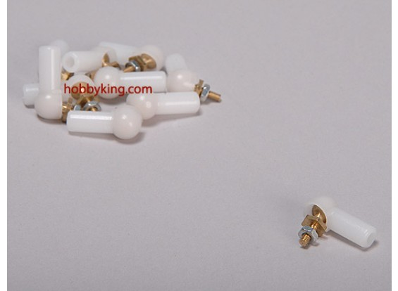 Bola e ligação rolo 4.8x3x17mm (10pcs / saco)