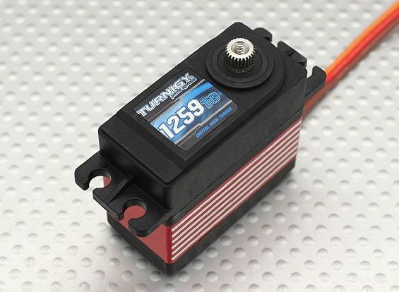 Turnigy 1259TG Digital Titanium Engrenagem Servo 57g / 16 kg / .14sec