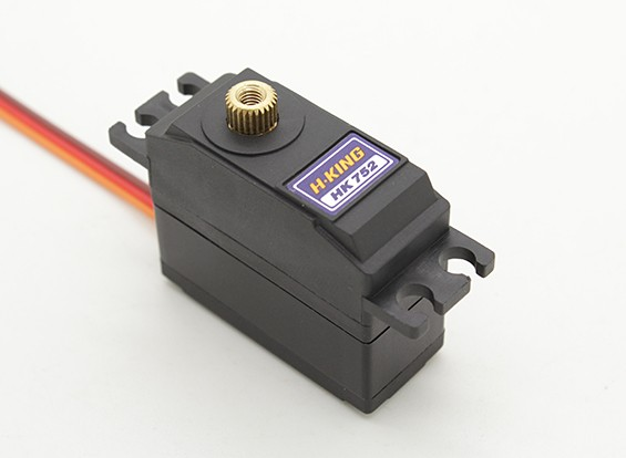 HobbyKing ™ HK-752MG Coreless Digital MG / 6,3 kg BB Servo / 0.11sec / 28g
