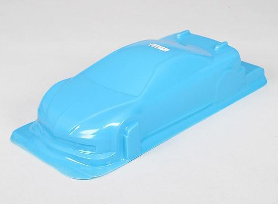 1/10 CR-6R Shell corpo w / decalques (azul)