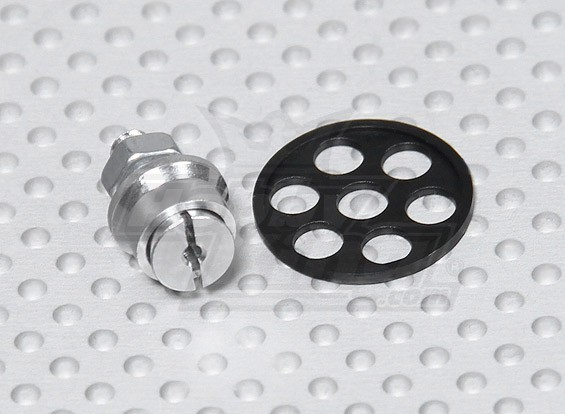 Telemicro 520 milímetros - Substituição Adaptador Hélice