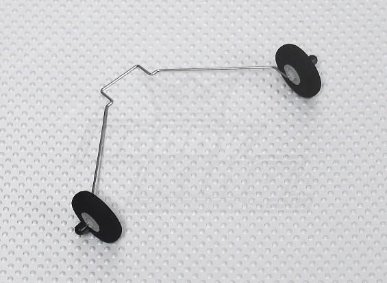 Telemicro 520 milímetros - Substituição Landing Gear