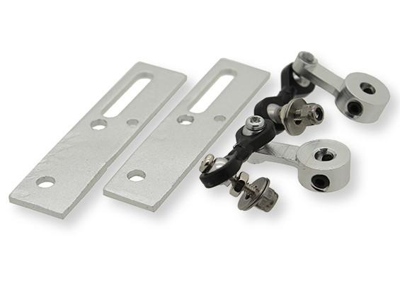 Torção e volta Mecanismo de Retração - Ternos 3mm de montagem PIN (2pcs)