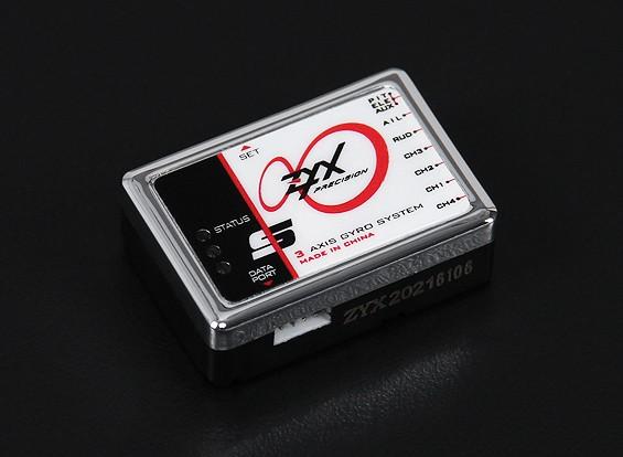 ZYX-S de 3 eixos Flybarless Sistema w / adaptador USB Programa