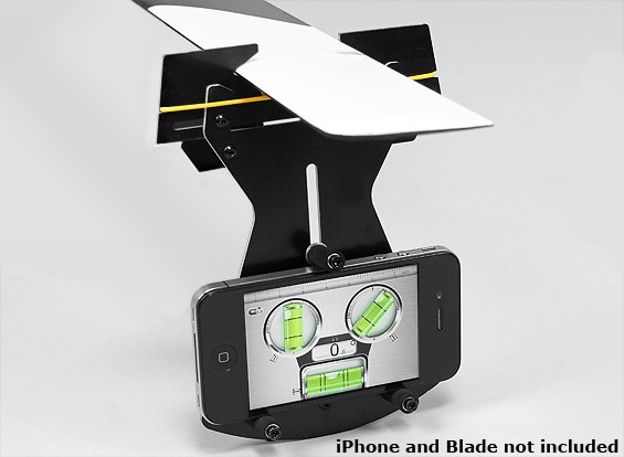 Flybarless Helicopter Passo calibre para uso w / Smartphone