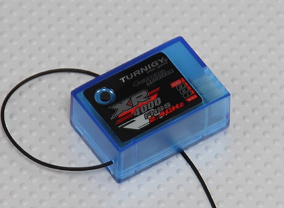 Receptor de 2,4 GHz Turnigy XR4000 4CH para Turnigy 4X TX