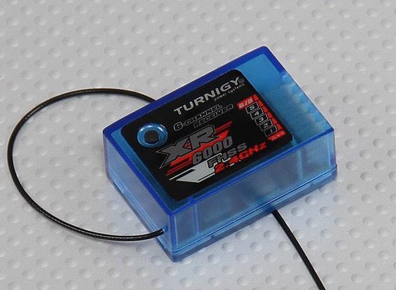 Receptor de 2,4 GHz Turnigy XR6000 6CH para Turnigy 4X / 6X TX