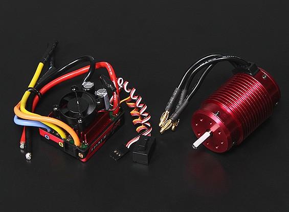 Turnigy TrackStar impermeável 1/8 Brushless Power System 2300KV / 120A