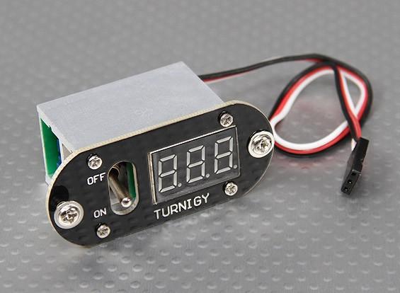 Turnigy Min Poder Distribuidor Tensão do interruptor de exibição