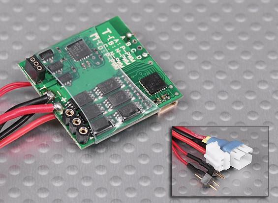 10A dupla Brushless ESC para Micro Heli (ternos FBL100, MCPX, SoloPro 100)