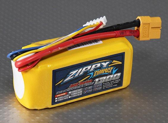 ZIPPY Compact 1300mAh 4S 35C Lipo pacote