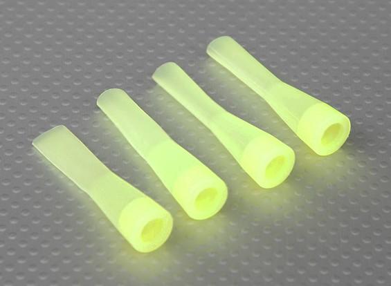 Silicone Choque de inicialização (amarelo) (4Pcs / Bag)