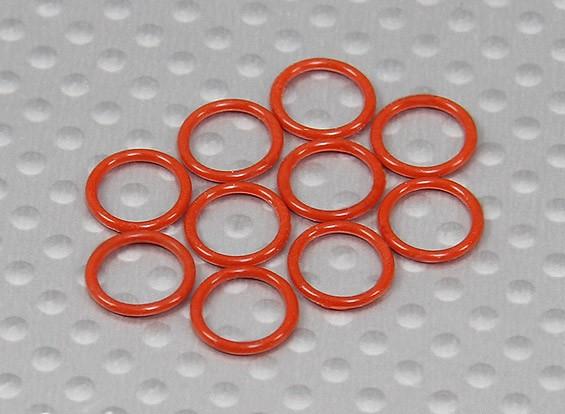 O-ring (9x8x1mm) 1/10 Turnigy 4WD Brushless Curso de curta duração Truck (10pcs / saco)